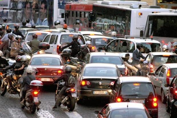 Traffico-Roma
