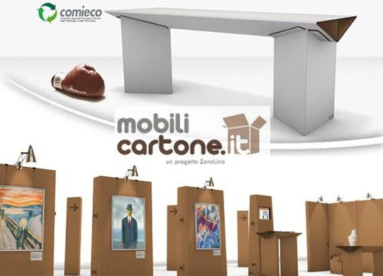 Concorso mobili in cartone