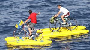 bici d'acqua